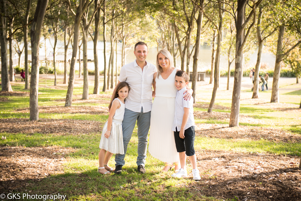Anette & Family outdoor photoshoot